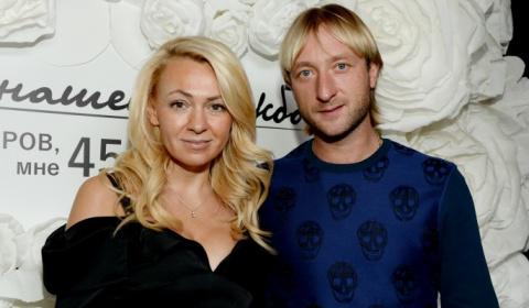 Плющенко и Рудковская устроили войну на Рублевке