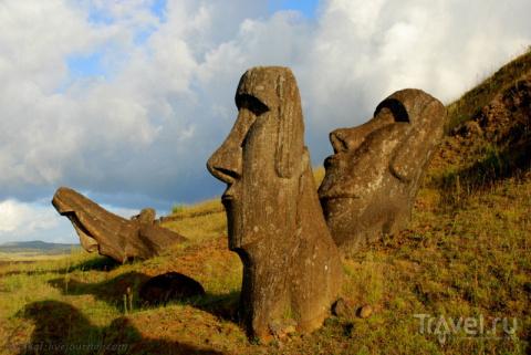 Рано Рараку — здесь рождались моаи