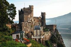 Замок Рейнштайн, Германия (Burg Rheinstein)