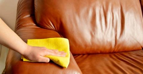 Как очистить кожу подручными…