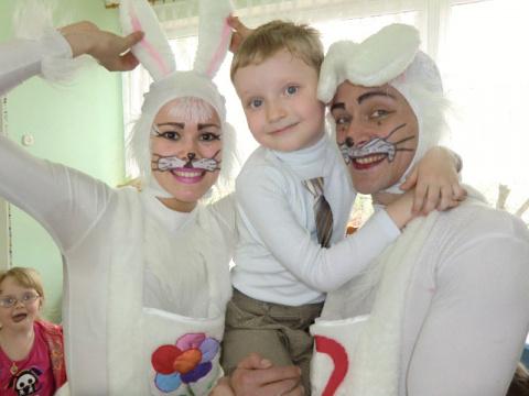 Зайцы и именинник