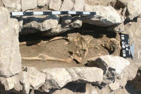 Древний скелет рассказал о г…