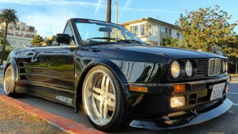 Американец полностью переделал BMW E30