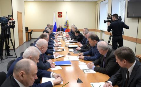 Заседание Военно-промышленной комиссии
