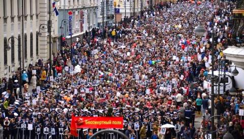 Instagram: как проходит День Победы во Владивостоке?