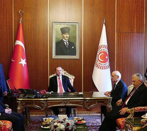Эрдоган предложил странам Ис…