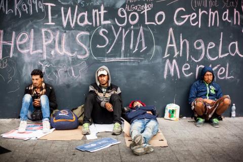 Изнасилованная Европа: бежен…