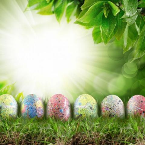 Как сделать креативные яйца к Пасхе