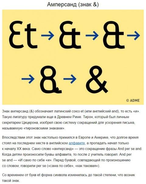Семь известных символов, о значении которых мы и не догадывались