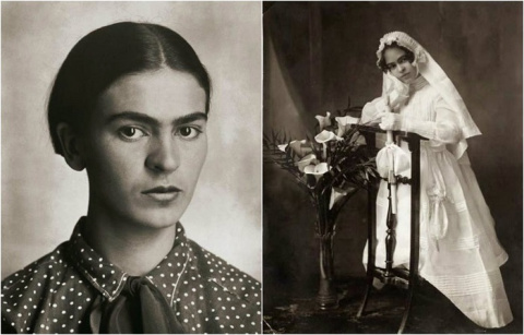 Фрида Кало в объективе фотографов: ретро портреты культовой художницы из 1920-х