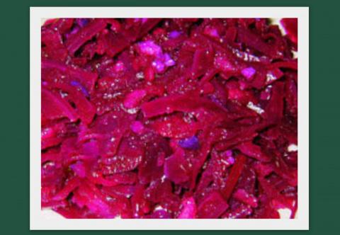 Салат из краснокачанной капусты с яблоками (немецкий рецепт ).Фото -Рецепт Olga Dell