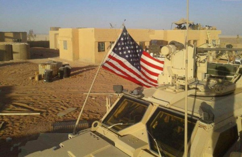 Ключевую базу США на юге Сир…