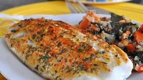 Рыба запеченная с горчицей, …