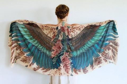 Вдохновившись красотой птиц,…