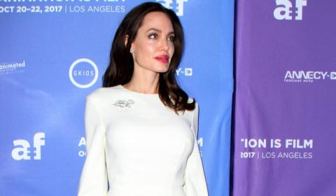 Анджелина Джоли вышла в свет…