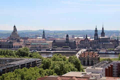 Дрезден за один день: японский дворец и лучшая смотровая площадка