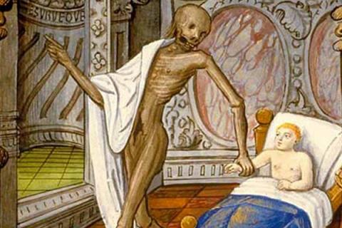 Как и почему умирали дети в Средние века