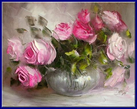Ewa Bartosik. Розы