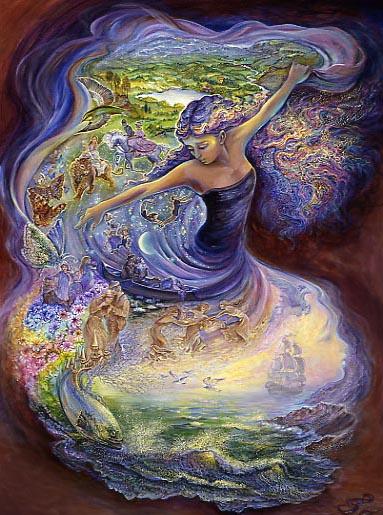 Картины Джозефин Уолл - Dance_of_dreams