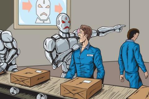 Конец рабочего класса. Робот…