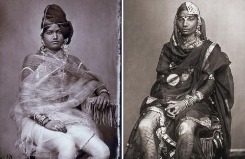 Многочисленные жены индийско…