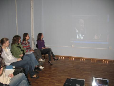 Вечер памяти Н.Пезешкиана 27 апреля 2011 года в Полтаве