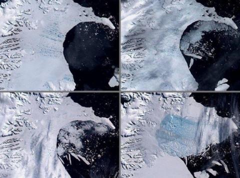 В Антарктиде случилась беда,…