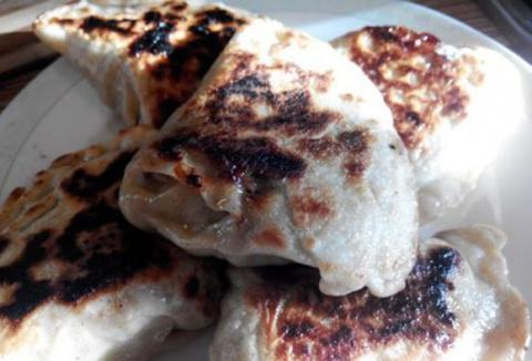 Рецепты по четвергам. Клёцки, ньокки, галушки, вареники. Вареники с мясом (вып. 2)