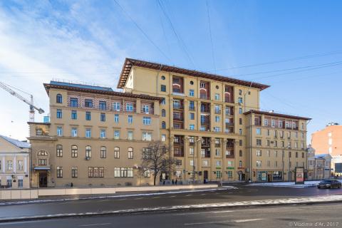 «Дом полярников» или Где жила Елена Сергеевна Булгакова до 1970 года