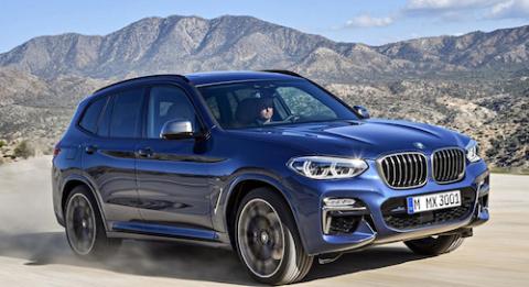 BMW официально представила новое поколение X3