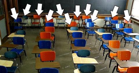 Учитель проучить «галерку»