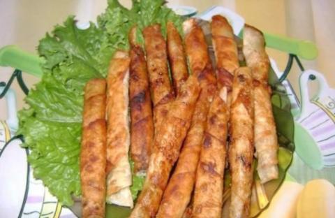 Закусочные «сигареллы» из лаваша: Крутой рецепт для современной семьи