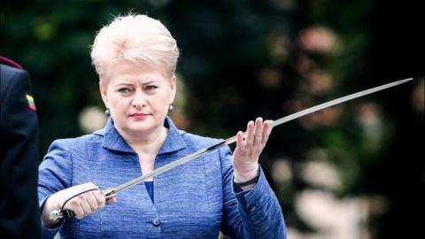 Грибаускайте угрожает России…