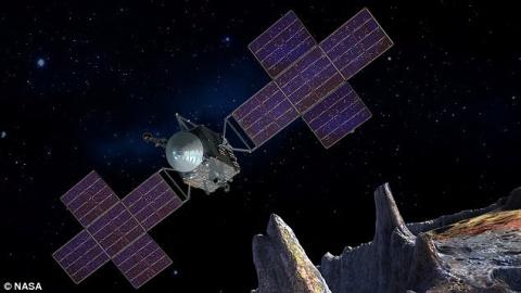 Астероид из железа, никеля и…