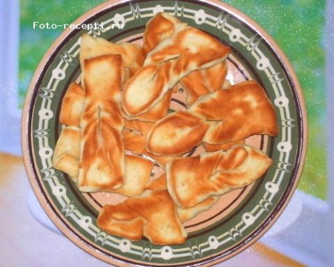 Коржики на сковороде