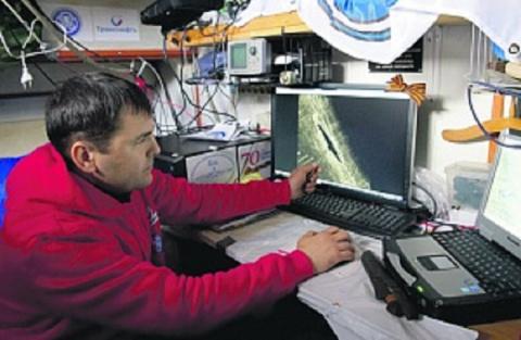 Гидролокатор «Неман»: на сем…