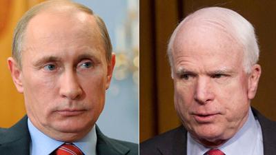 Маккейн оценил политику Путина и ее результаты