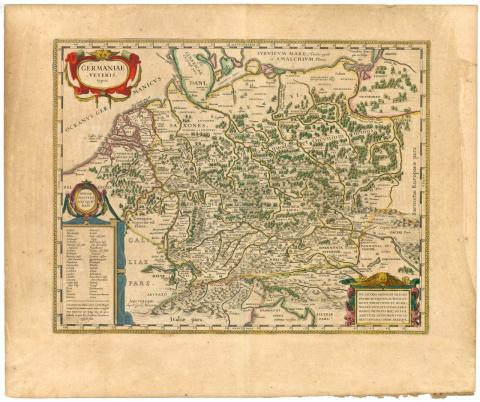 Корнелий Тацит. О происхождении германцев и местоположении Германии