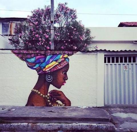 Уличное искусство удивительн…