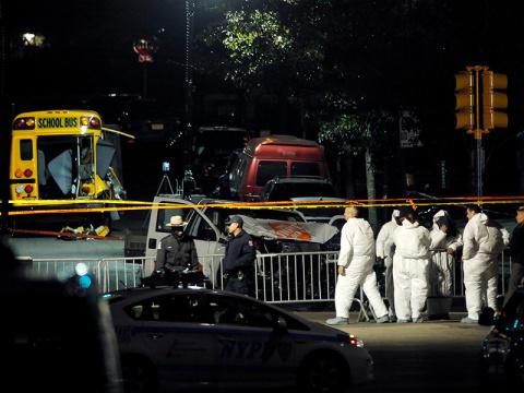 Подозреваемый в атаке в Нью-…