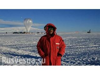 «Ухо Антарктики»: зачем русские и американцы запускают странные «воздушные шары» в Антарктиде