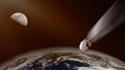 К Земле летит крупнейший в и…