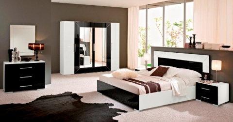 Интерьер спальни в современн…