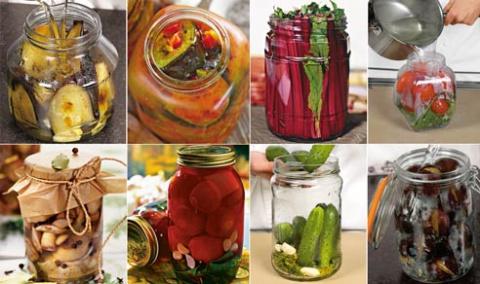 ЗДРАВОТДЕЛ. Овощные заготовки для диабетиков (со стерилизацией)