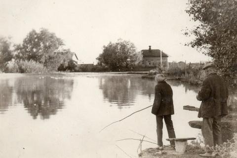 Дедовские методы ловли рыбы.…