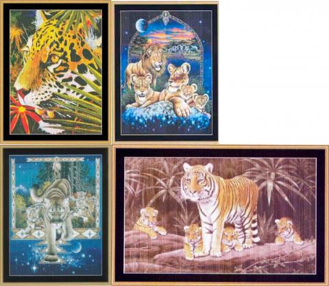 Семейство кошачьих от Мистик