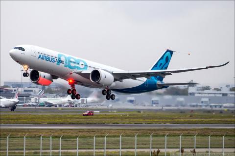 Airbus A330neo совершил первый полет
