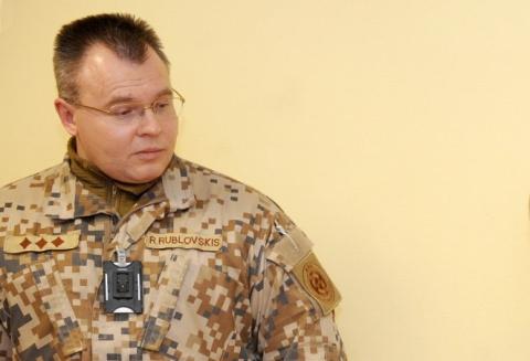 Полковник Рубловскис открове…