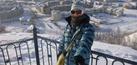 Француз путешествует по Сибири