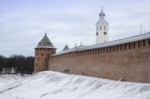 Необычная прогулка в Великом Новгороде